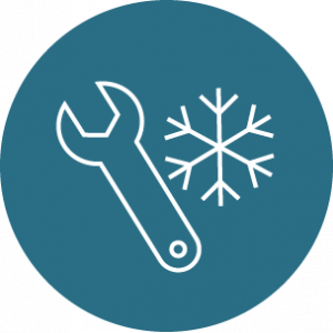winter maintenance icon